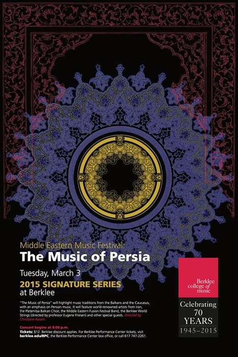 Middle Eastern Music Festivals - This Year's Festival Focuses on Music From Persia