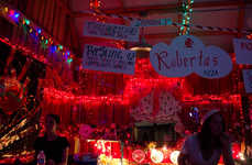 Southern Festival Bars - The Snake and Jakes Christmas Club Barn at Bonnaroo is a Tribute to NOLA
