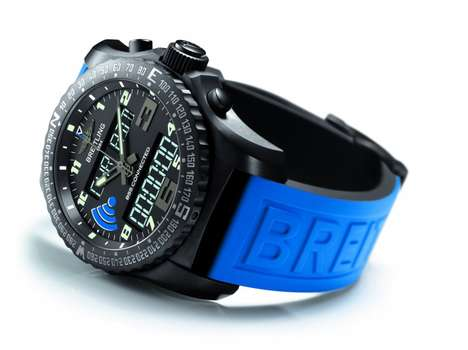 Smartphone-Connected Watches - The Breitling B55 Combines Smart Tech With Classic Watch Elegance
