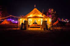 Boutique Concert Camps - Lightning in a Bottle Gives Festival Attendees a Luxe Experience