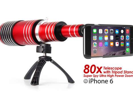 Long-Range Phone Lenses