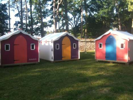 Homey Camping Pods - Podpads' Festival Tents Provide the Comforts of Home on a Small Scale