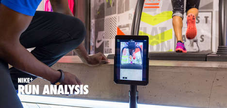 Injury-Preventing Gait Breakdowns - The Nike Run Analysis is an In-Store Experience for Runners