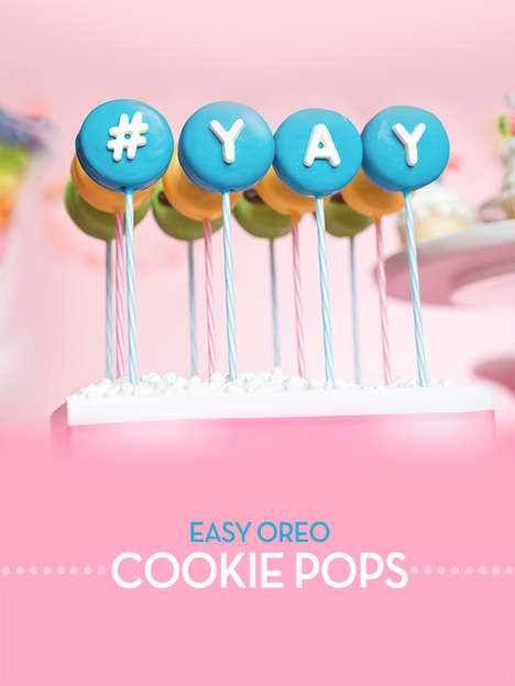 Decorative Cookie Pops - This Sweet Recipe from Bakerella Provides an Easy Alternative to Cake Pops
