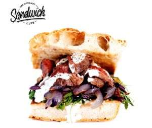 Gourmet Casual Meals - The Gourmet Sandwich Club Puts a Premium Spin on Classic Dishes