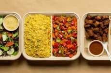 Take-Home Mediterranean Meals - Yalla Mediterranean Caters to Families with Take-Out Meals