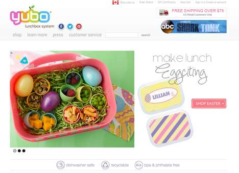 Custom Lunchbox E-Shops - Yubo Offers Lunchboxes, Containers and Compact Meal Ideas