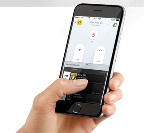 Smartphone TV Remotes - Pronto is a Smart Phone Remote and a Personal TV Guide