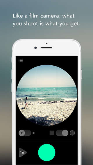 One-Shot Photography Apps - The WhiteAlbum App Gives You One Chance to Take a Good Photo