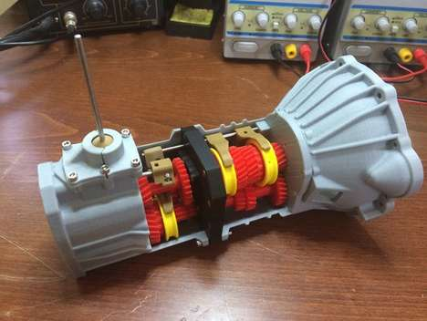 3D-Printed Car Transmissions - An Engineer Created This Working 5-Speed Transmission for a Toyota