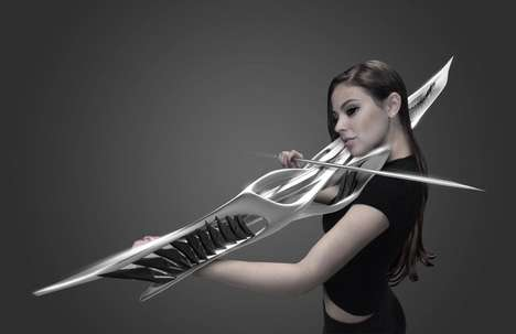 Futuristic Violin Designs - This 3D-Printed Instrument Creates Sights and Sounds to Behold