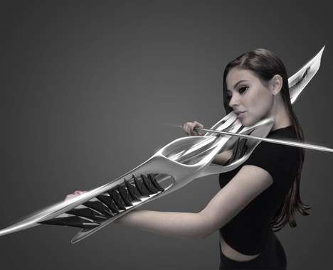 Futuristic Violin Designs