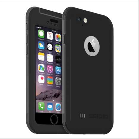 Military-Grade Phone Cases - The Latest Obex Case for iPhone 6 Protects Against Dust and Snow