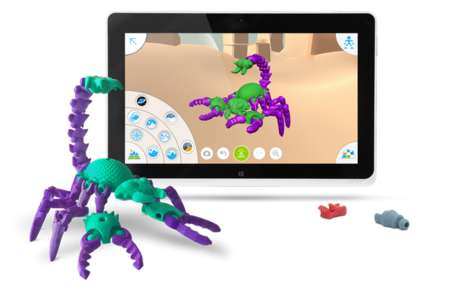 Toy Inventor Apps - Make Toys with Autodesk's 3D-Printing Tinkerplay App