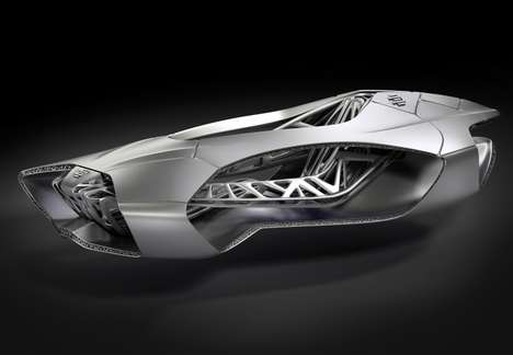 Futuristic 3D Printed Vehicles - The EDAG Genesis is Inspired By a Turtle's Skeleton