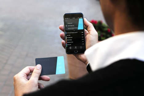 Bluetooth Payment Cards - The Stratos Card Consolidates All Plastic Cards into One
