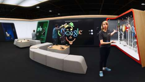 Virtual Technology Shops - Google's Virtual Shop Simulates its Branded Retail Space in London