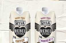 Indulgent Coconut Drinks - Rebel Kitchen's Vegan Coconut Milk Drinks Take on Decadent Flavoring