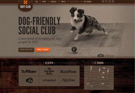 Dog-Friendly Social Clubs - New York's Ruff Club Lets Pet Owners Mingle With Man's Best Friend