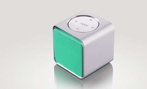 Cubic Bluetooth Speakers - Rapoo A300 Sound System Makes Your Mobile Music Collection Very Sharable
