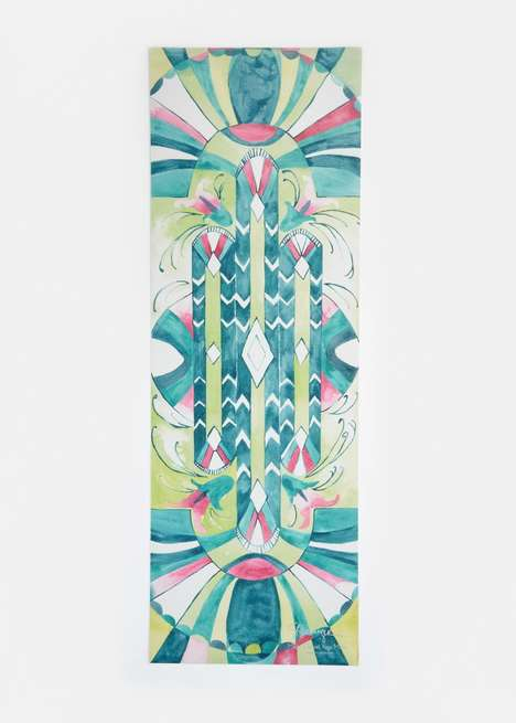 Bohemian Yoga Mat Gear - These Magic Carpet Yoga Mats From Rodale's Boast a Vibrant Print