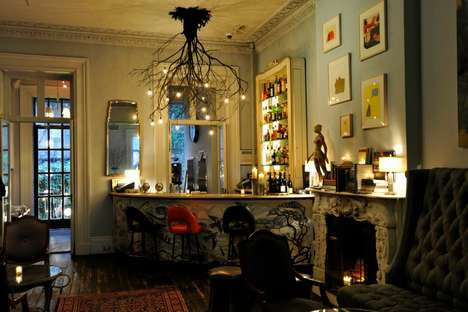 Art-Centric Social Clubs - The Norwood Club in Chelsea Brings Together the Creative Elite of NYC