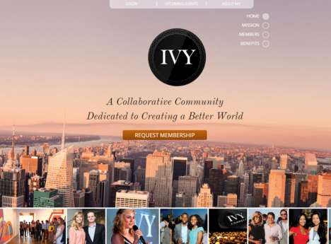 Social Betterment Groups - Ivy Club Members Take Pride in Being Leaders in Thought & Innovation