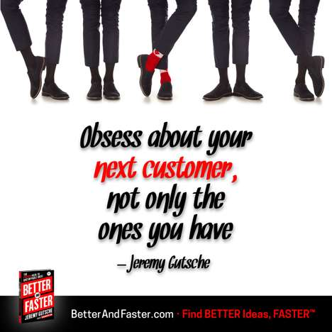 Obsess Over Your Customer - The Better and Faster Business Innovation Book Targets Consumer Focus