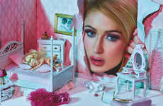 Barbie-Inspired Socialite Editorials