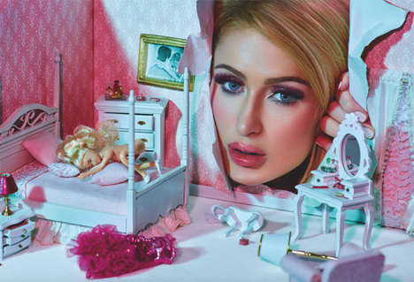 Barbie-Inspired Socialite Editorials - The Paris Hilton ODDA Magazine Exclusive Celebrates Fantasy