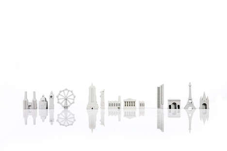 Architectural Eraser Sets - SUCK UK's City Erasers Educate Kids About Famous Landmarks