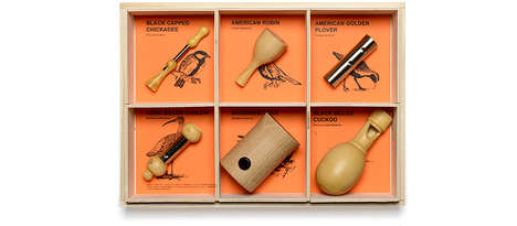 Elegant Outdoorsman Tools - These Wood and Metal Bird Call Whistles Will Appeal to Nature Lovers