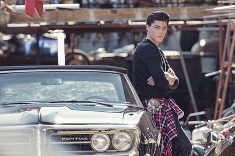 Retro Greaser Menswear - The 7 Diamonds Spring/Summer 2015 Campaign is a Sophisticated Throwback