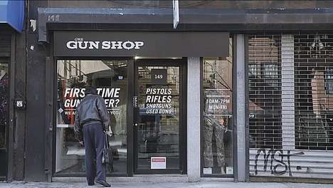 Educational Weapon Pranks - This Fake Gun Store Experiment Teaches People About the Danger of Guns