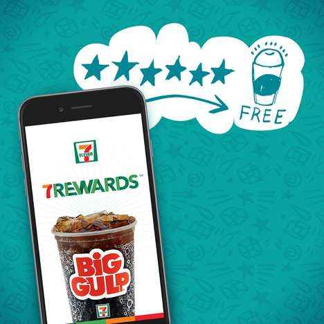Data-Driven Loyalty Apps - 7-Eleven's New Loyalty Platform Trades Free Drinks for Insightful Data