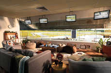 Luxury Stadium Suites - Airbnb is Giving Away a Stay in the Formula 1 Petronas Malaysia Grandstand