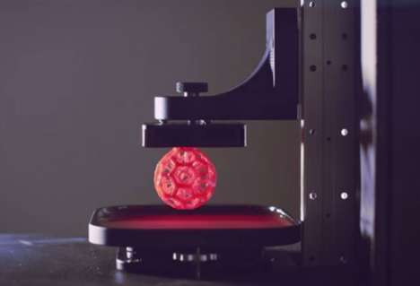 Rapid 3D Printing Devices - Carbon3D's New Device Drastically Speeds Up 3D Manufacturing