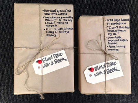 Anonymous Reading Campaigns - The 'Blind Date with a Book' Project is a Mystery Book Promotion