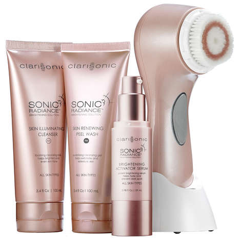 Complexion-Focused Tools - Clarisonic's Sonic Radiance Brightening Solution Improves Skin Instantly