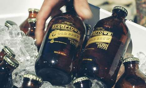 Bottled Iced Coffee Brews - Stumpton Cold Brew Coffee is Perfect for On-the-Go Enjoyment