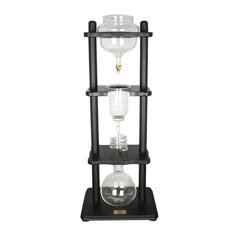 8-Hour Coffee Brewers - The Yama Cold Brewer Takes 8 Hours to Produce Perfect Cold-Drip Coffee