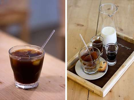 Coffee Ice Cubes - Midsummer Night's Dream Drink is a Uniquely Iced Caffeinated Beverage