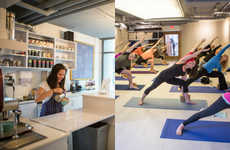 Hybrid Yoga Cafes - Toronto's Yogaville Pairs Classes for Relaxation with Treats