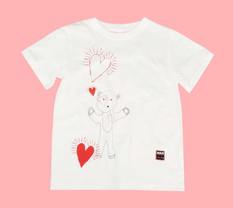 Designer Charity Apparel - This Stella McCartney T-Shirt Collection Raises Money for War Child UK