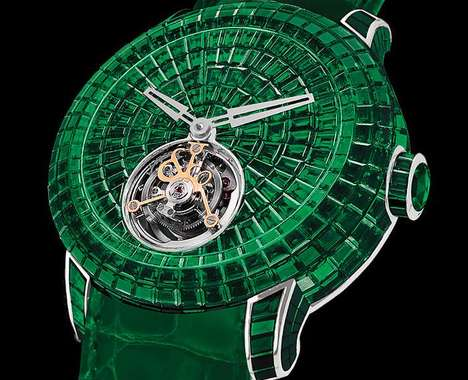 Elegant Emerald Watches