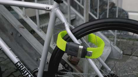 Lightweight Bicycle Locks - The Litelok Lets You Enjoy Lightweight Bike Security