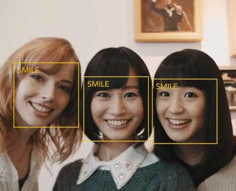 Smiling Selfie Cameras
