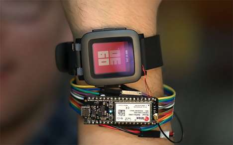 Modular Strap Watches - The Pebble Time Watch's Straps Can Be Easily Swapped Out