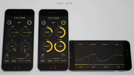 Rule-Creating Smartwatches - The Vector Smartwatch Runs On Its Own Proprietary Software