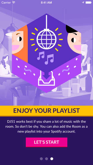 Musical Mediator Apps - DJ-51 Analyzes Spotify Libraries to Suggest Songs to Please All Guests